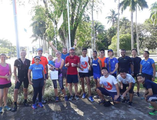 Tomorrow morning is our December 2018 Saturday Social run, come join us :)